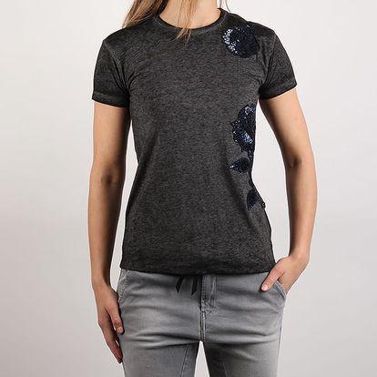 Tričko Replay W3959 T-Shirt Černá