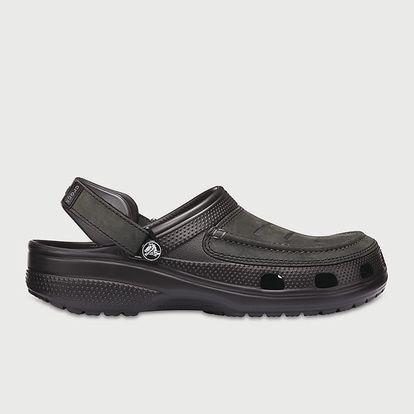 Pantofle Crocs Yukon Vista Clog Černá
