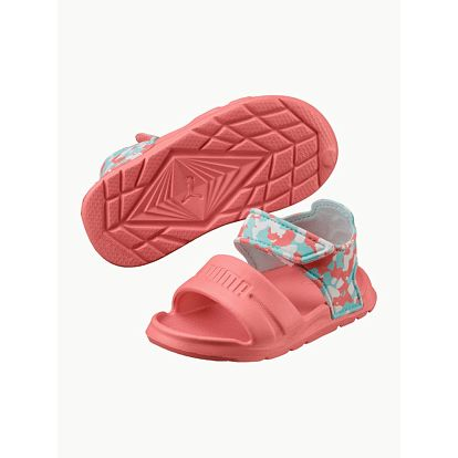 Sandály Puma Wild Sandal Injex Camo Inf Růžová