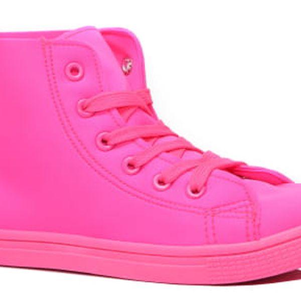 Dámské růžové tenisky Danie 024