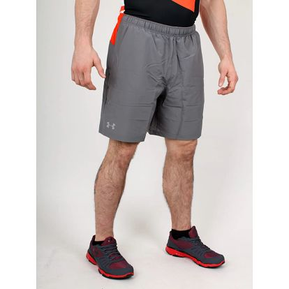 Kraťasy Under Armour HeatGear SIXTH MAN 2-IN-1 SH Šedá