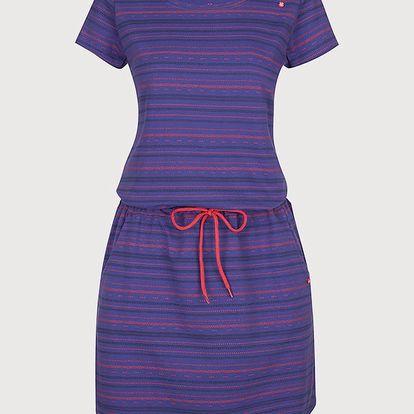 Šaty Loap Alecia Modrá