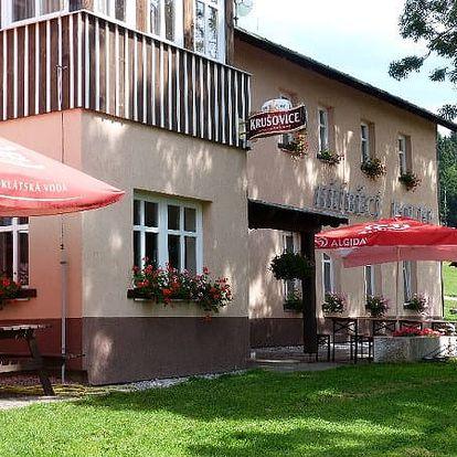 Last minute pobyt na Hříběcí boudě. Pohodový pobyt v Krkonoších plný výletů a relaxace v hotelové sauně.