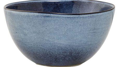 Bloomingville Keramická miska Sandrine Blue, modrá barva, keramika