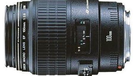 Objektiv Canon EF 100mm f/2.8 USM MAC makroobjektiv černý (4657A018AA)