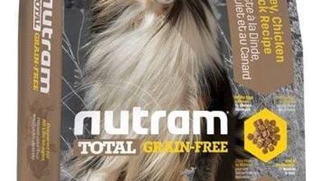 NUTRAM Total Grain Free Turkey, Chicken, Duck Dog 11,34 kg