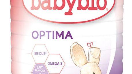 BABYBIO Optima 1 počáteční mléčná kojenecká výživa v prášku 900 g