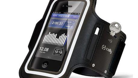 Pouzdro na mobil sportovní Celly Armband XXL černé (ARMBAND01)