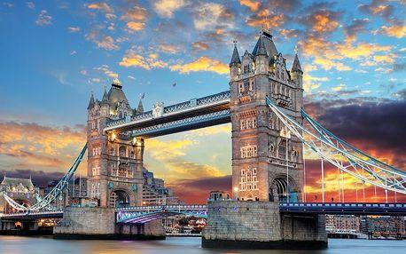 Londýn s návštěvou ateliérů Harryho Pottera během 4 dnů se snídaní