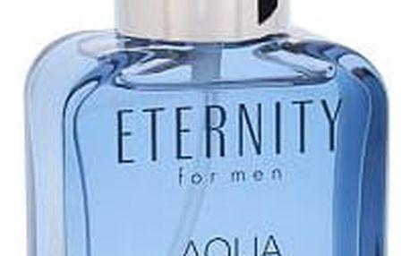 Calvin Klein Eternity Aqua For Men - toaletní voda s rozprašovačem 100 ml