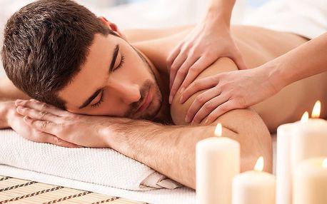 Masáž pro muže dle výběru ze 3 druhů a 3 délek