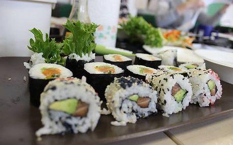 Zážitkový kurz přípravy sushi 19.5. v Praze - nejběžnější druhy sushi