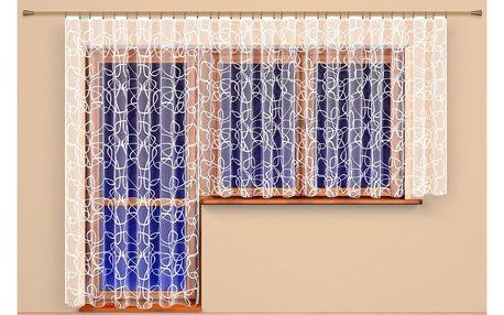 4Home Záclona Terezie, 300 x 175 cm, 300 x 175 cm