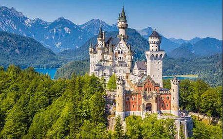 Krásný poznávací zájezd do Německa, kde navštívíte zámek Neuschwanstein, jezero Chiemsee a Mnichov