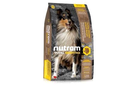 NUTRAM Total Grain Free Turkey, Chicken, Duck Dog 11,34 kg