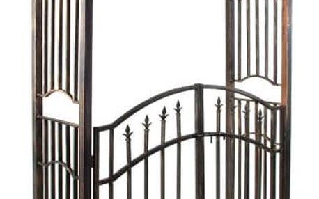 Tuin Garth 1345 Robustní brána v antickém stylu 207 x 130 x 50 cm