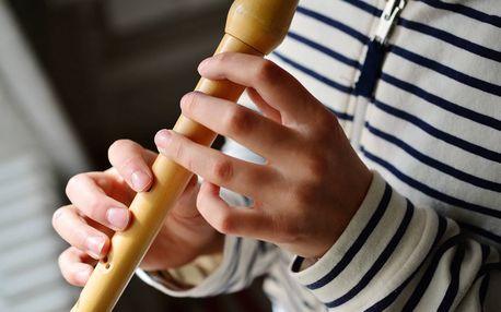 Hlavně to nepřepísknout: kurz zobcové flétny