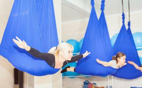 Nedělní dopolední kurz pole dance a létací jógy