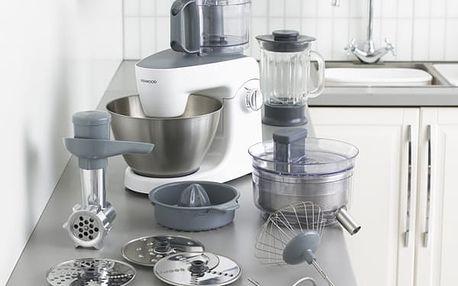 Kuchyňský robot Kenwood MultiOne KHH 326 WH šedý/bílý
