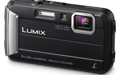 Digitální fotoaparát Panasonic Lumix DMC-FT30EP-K černý