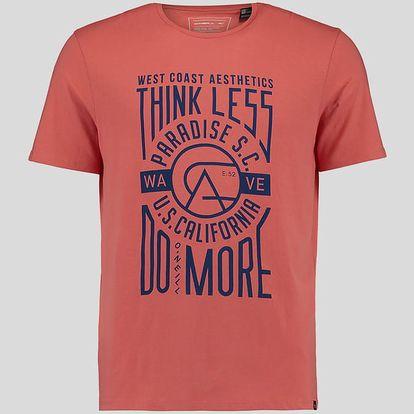 Tričko O´Neill LM THINK LESS, DO MORE T-SHIRT Oranžová