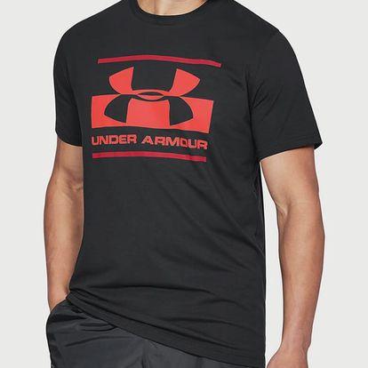 Tričko Under Armour Blocked Sportstyle Logo Černá