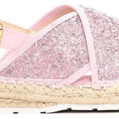 Dámské růžové sandále Goldie 6134