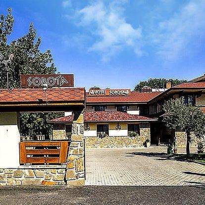 Pobyt v Hoteli Sobota*** s 20% zľavou do Aquacity Poprad