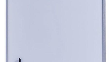 Magnetická poznámková tabule+3 magnety, 60x80 cm, ZELLER