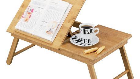 Snídaňový stolek, držák na knížku, 55x33 cm, ZELLER