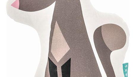 Bavlněný dětský polštářek Mr. Fox Wolfie, 40x30cm