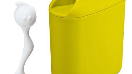 KOZIOL Nádoba HOT STUFF s odměrkou - barva limon