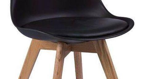 Černá židle Signal Kris