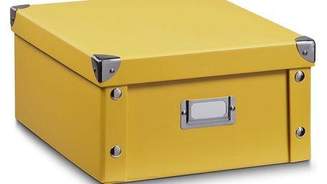 Box pro skladování, 31x26x14 cm, barva mango, ZELLER