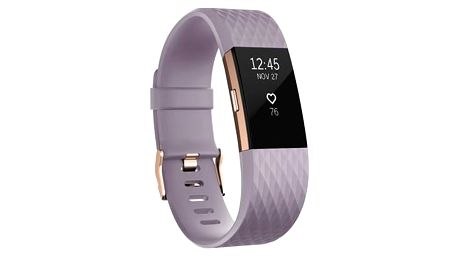 Fitbit Charge 2 large - Lavender Rose Gold (FB407RGLVL-EU)