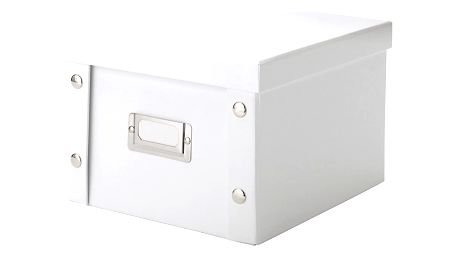 Box na DVD disky,barva bílá, ZELLER