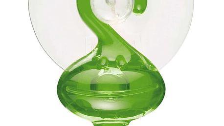Věšák na ručníky s přísavkou MORITZ - barva zelená, KOZIOL