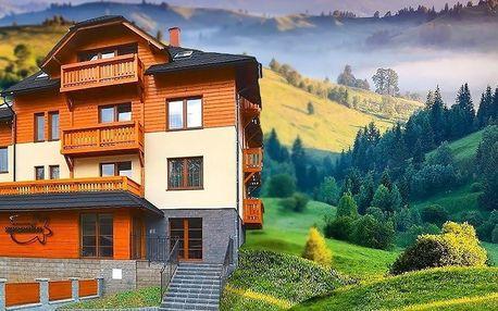 Leto v apartmánoch na Kysuciach pre 2 až 4 osoby
