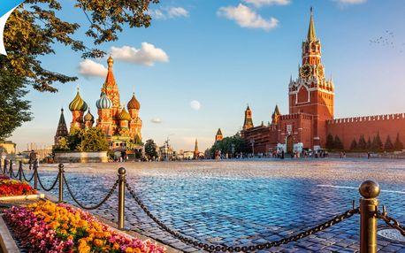 4 - dňový letecký zájazd do Moskvy