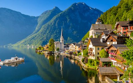 Hallstatt – leto v rakúskych Alpách