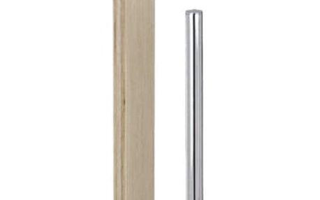 Stojan na toaletní papír a WC štětku, SAMONA BROWN - 2 v 1 Wenko