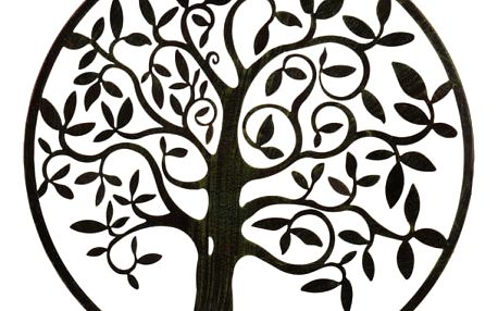Zahradní dekorace, dekorace na zeď - strom, Ø 58 cm ProGarden