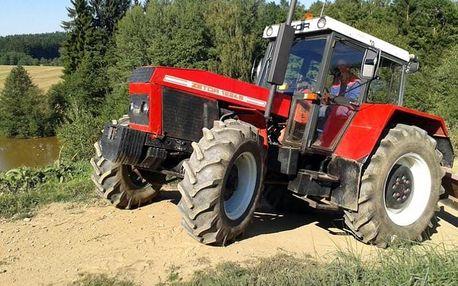 Jízda traktorem