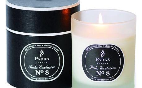 Svíčka s vůní dřeva a pačuli Parks Candles London Exclusive Feu De Bois, 50 hodin hoření