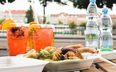 Piknik na náplavce: skvělé jídlo a pití s sebou
