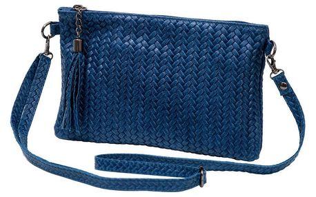 Světle modrá kabelka z pravé kůže Andrea Cardone Michele