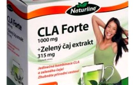 Naturline CLA Forte 1000 mg + Zelený čaj 315 mg 60 tobolek