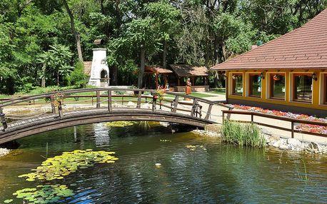 Romantická atmosféra maďarského vidieka s plnou penziou