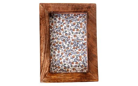 Fotorámeček z mangového dřeva Sass & Belle Single Portrait