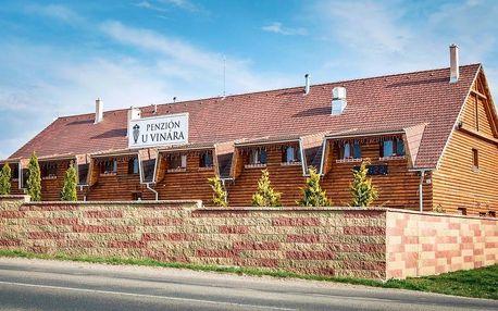 Pobyt v Penzióne u Vinára s raňajkami a zľavou na nákup vín